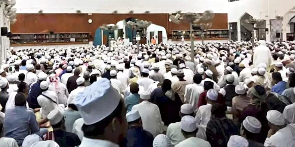 Tabligh Gathering in Seri Petaling Mosque