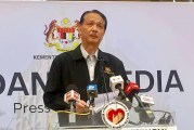 COVID-19 in Malaysia : 3662 Cases, 179 New, 4 More Dead
