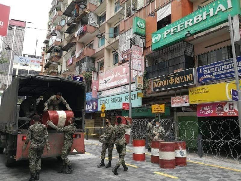 Jalan Masjid India Under Lockdown 01