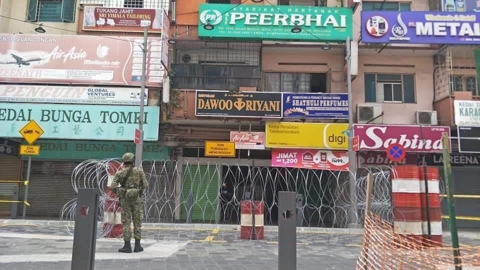 Jalan Masjid India Under Lockdown 04
