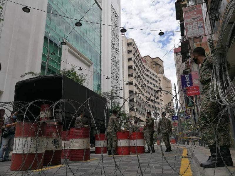 Jalan Masjid India Under Lockdown 07
