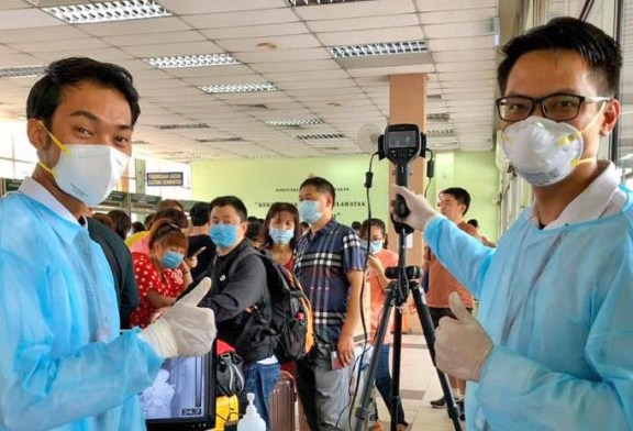 COVID-19 in Malaysia : 6894 Cases, 5571 Healed, 113 Dead