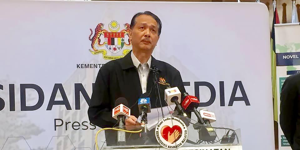 COVID-19 in Malaysia : 7619 Cases, 6083 Healed, 115 Dead