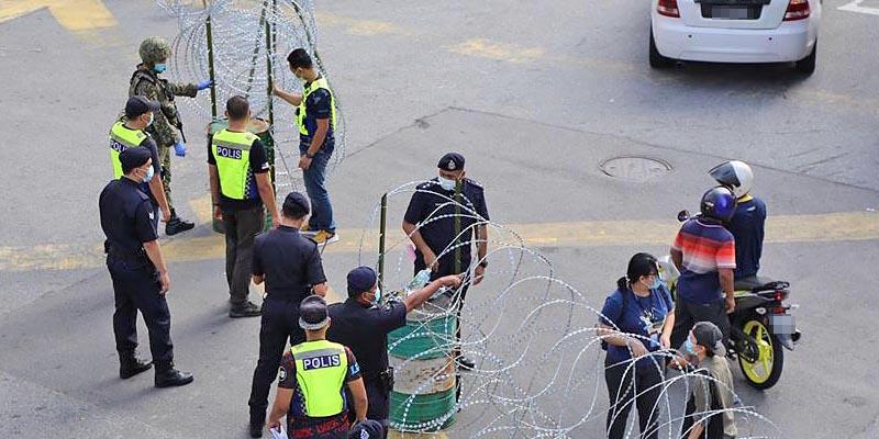 COVID-19 in Malaysia : Pudu Locked Down!