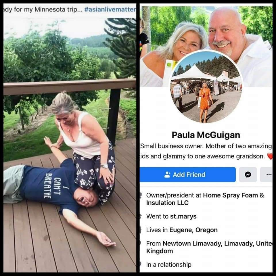 Paula McGuigan George Floyd Challenge
