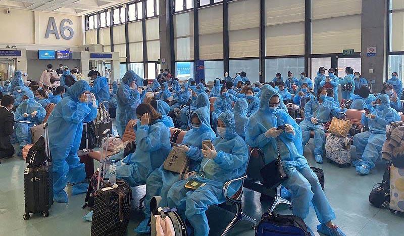 Repatriate Vietnamese Taiwan