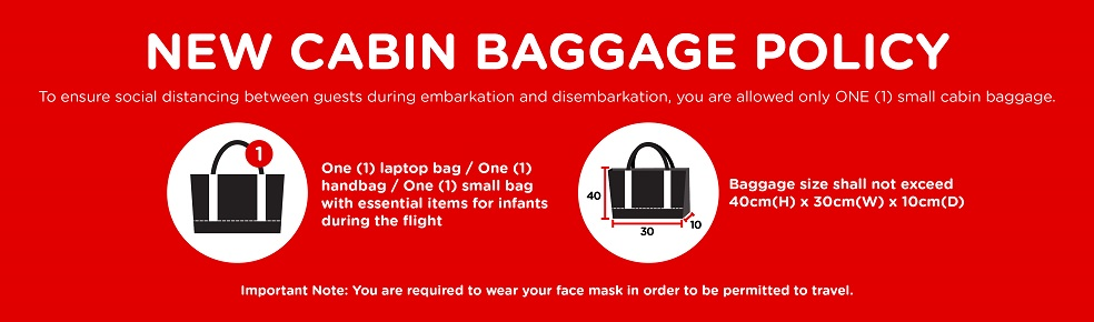 AirAsia New Cabin Luggage Limits