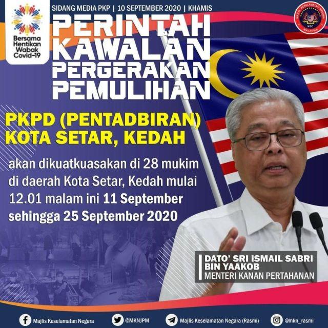 PKPD Kedah September 2020