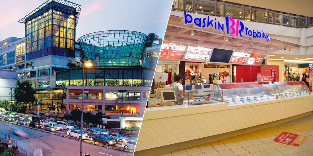 Baskin-Robbins 1 Utama : Closed After COVID-19 Exposure!