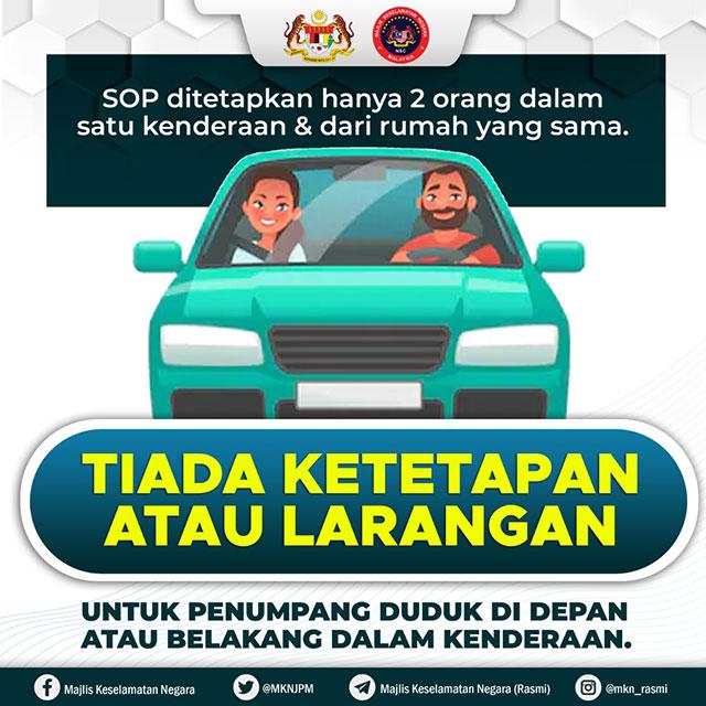 MKN Car Sitting Arrangement notice