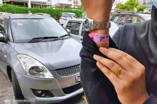 Penang girl pink COVID-19 bracelet caught 03