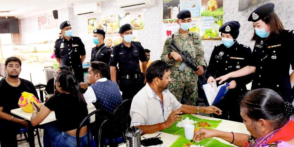 RM4K Fine For Family Of 4 At Restaurant During CMCO?