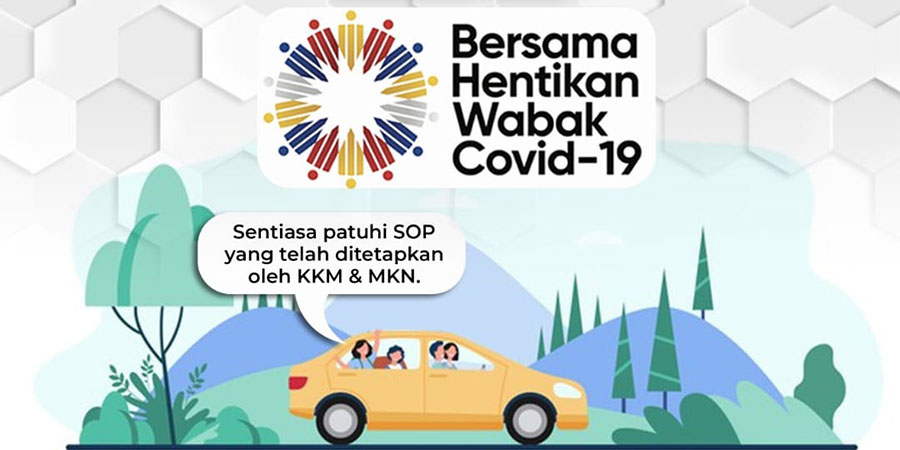 No Travel Restrictions From 7 December But Must Follow SOP!