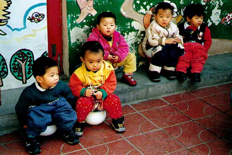Chinese children potty training