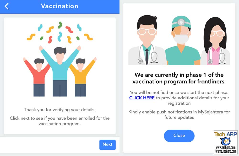 How To Register For COVID-19 Vaccine On MySejahtera!