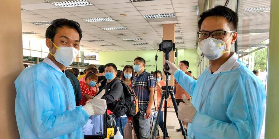 COVID-19 in Malaysia : 311777 Cases, 289452 Discharged, 1166 Dead