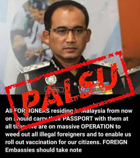 No Immigration Op, But Always Carry Passport In Malaysia!