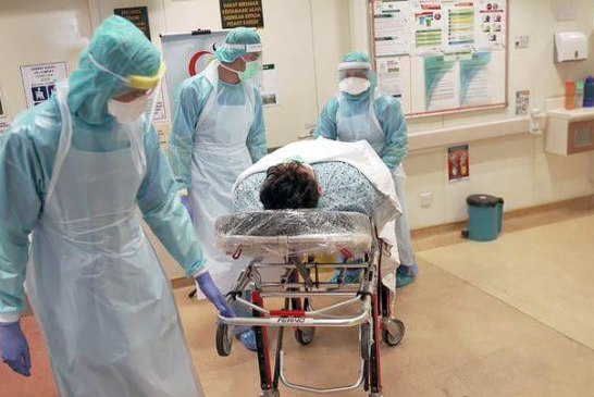 COVID-19 in Malaysia : 565533 Cases, 484787 Discharged, 2729 Dead