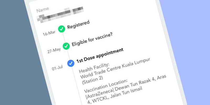 Check MySejahtera Even If You Failed To Get AstraZeneca 2.0!