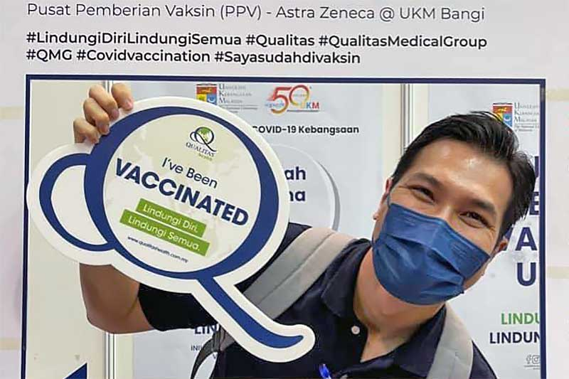 UKM Bangi Vaccination Experience By Sharmine Ishak!