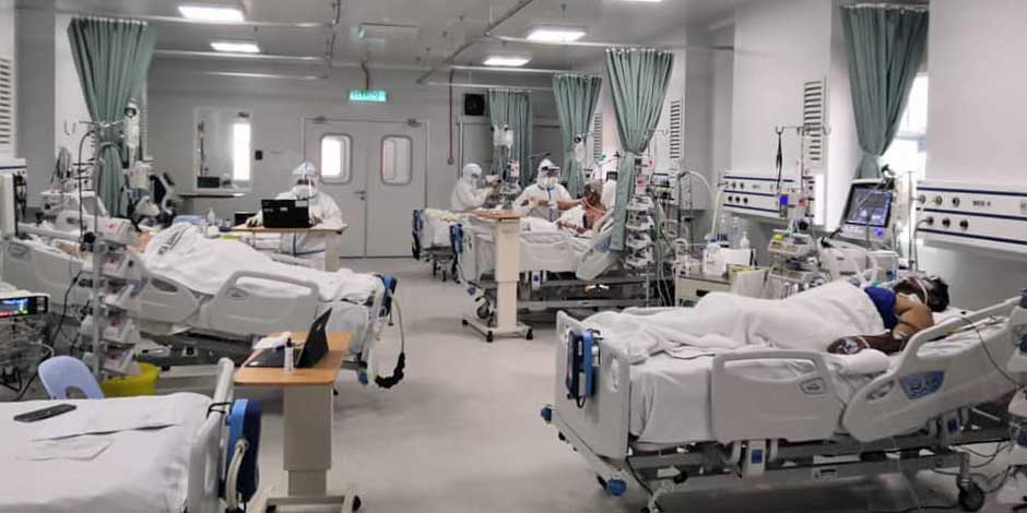 COVID-19 in Malaysia : 893323 Cases, 772542 Discharged, 6728 Dead