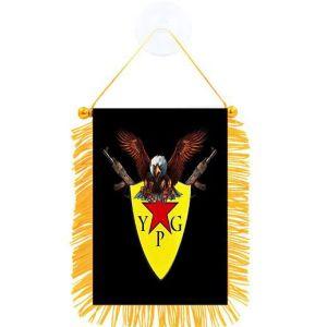 YPG Flag för bilar