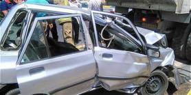 حادثه رانندگی در مهاباد