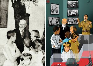 دوكتور یانووش كورچاك ، پزیشكی جوولهكه و نووسهری ئهدهبیاتی منداڵان و خهڵكی لێهێستان كه ساڵی ١٩٤٢ له گهڵ منداڵان له دایهنگهكهی و له ناو ئۆردووگای مهرگی نازیهكاندا گیانی له دهست دا