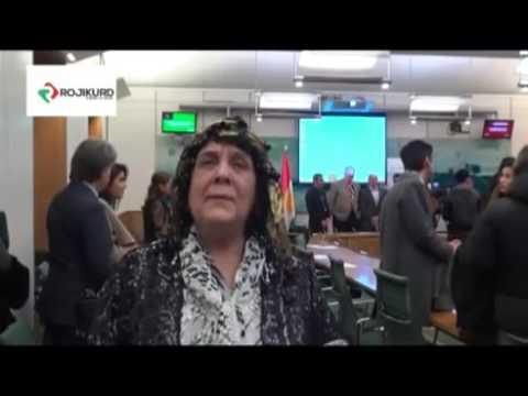 وتووێژی دوکتور کامهران نهورۆز سهبارهت به کارهساتی ههڵهبجه له پارلمانی بریتانیا