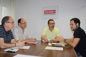 Encuentro con CCOO Sevilla