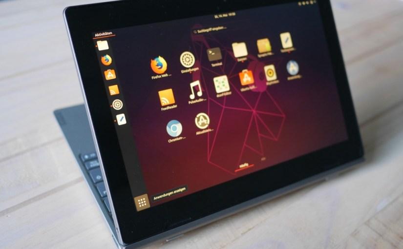 Ubuntu on the Lenovo D330