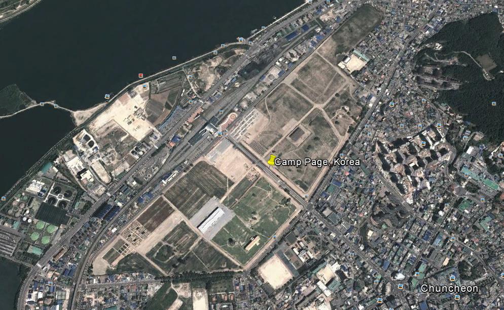A Profile Of Camp Page South Korea ROK Drop - Google map us base korea