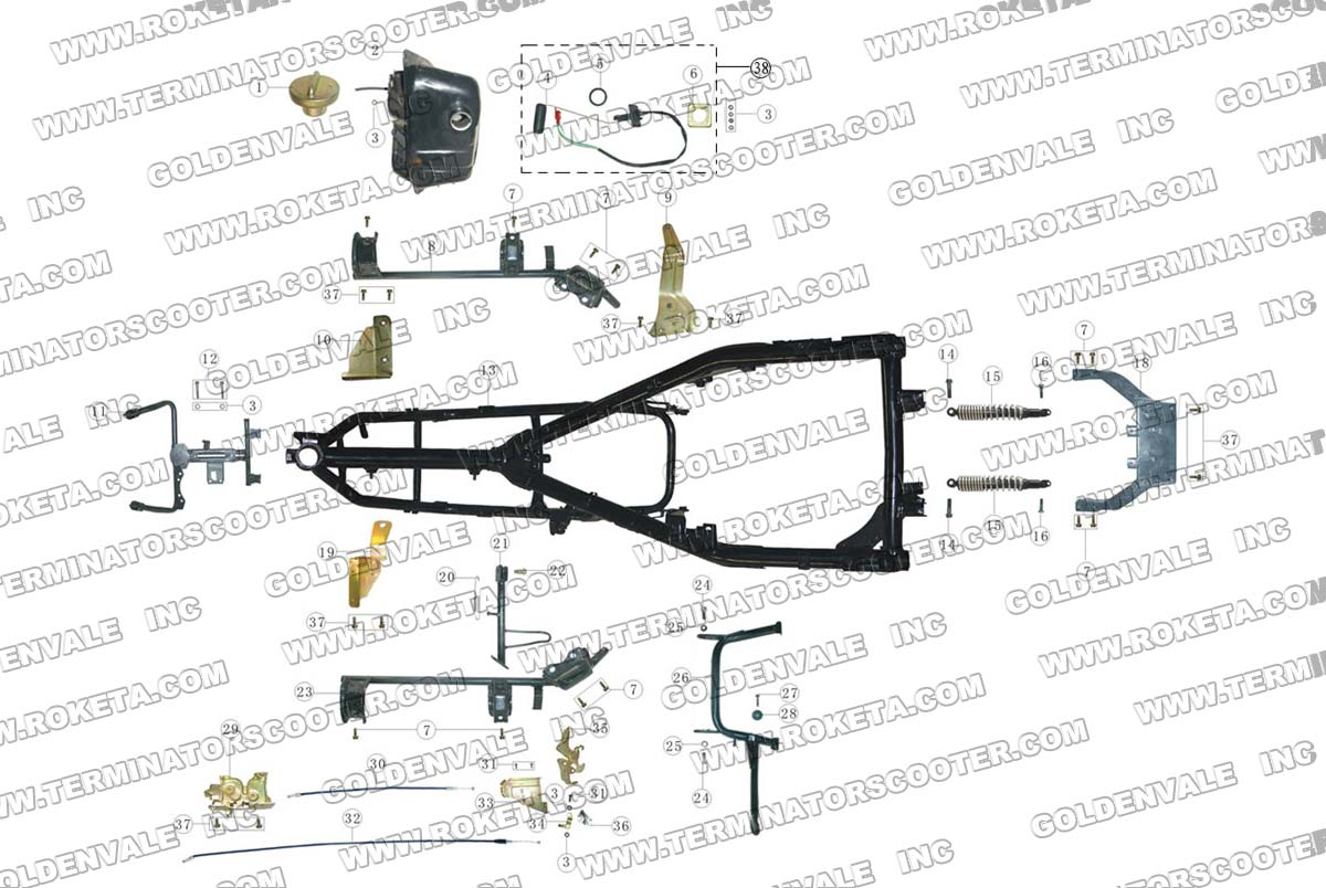 tags: #50cc scooter wiring diagram#roketa 110cc atv wiring diagram#roketa  scooter wiring schematic#49cc scooter wiring diagram#2007 roketa 150cc  scooter