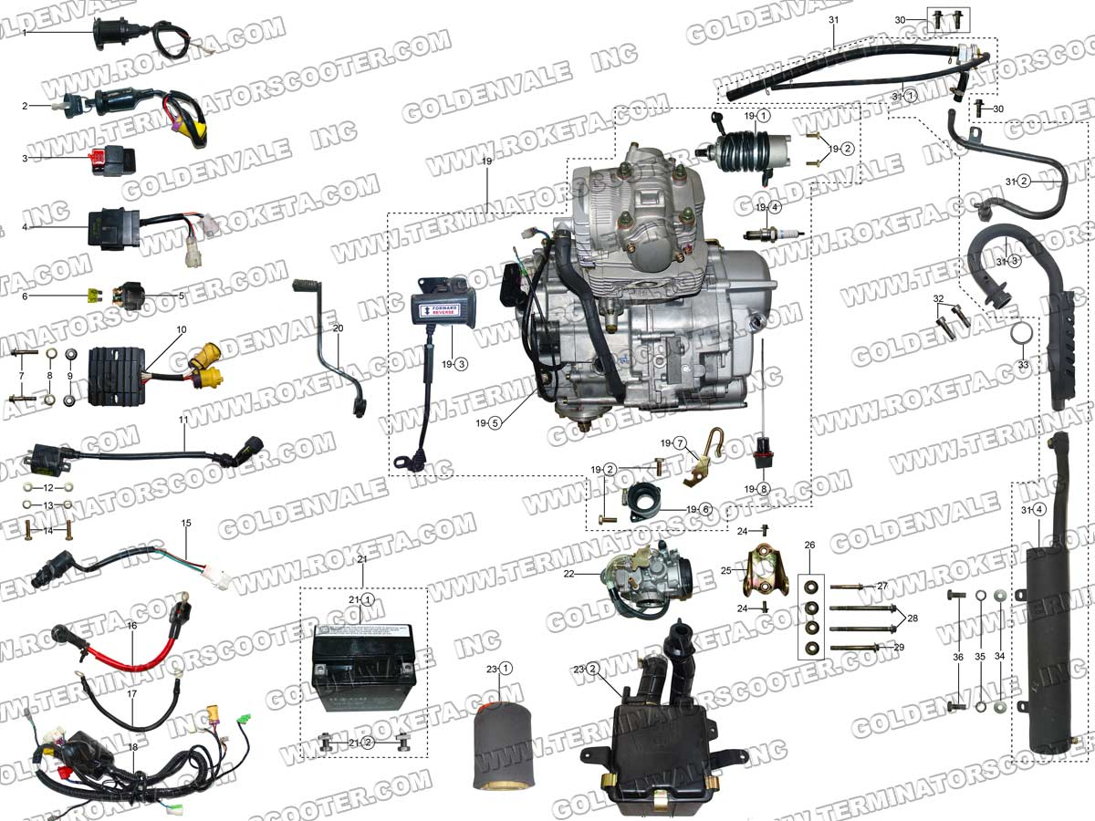 86 Honda Atv Engine Diagram