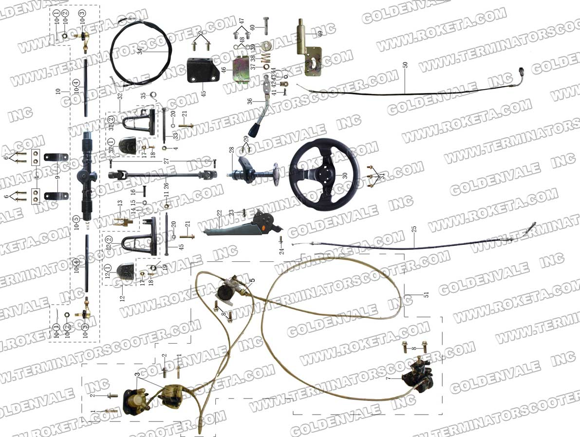 Carter 150cc Gy6 Wiring Diagram