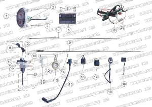 Roketa 150 Engine Diagram | Wiring Diagram And Schematics