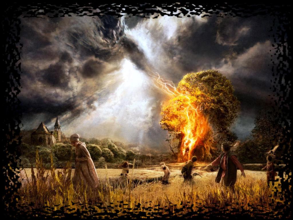 Kad nebom klaparaju točkovi vatrenih kočija: Perun sa munjama donosi kišu