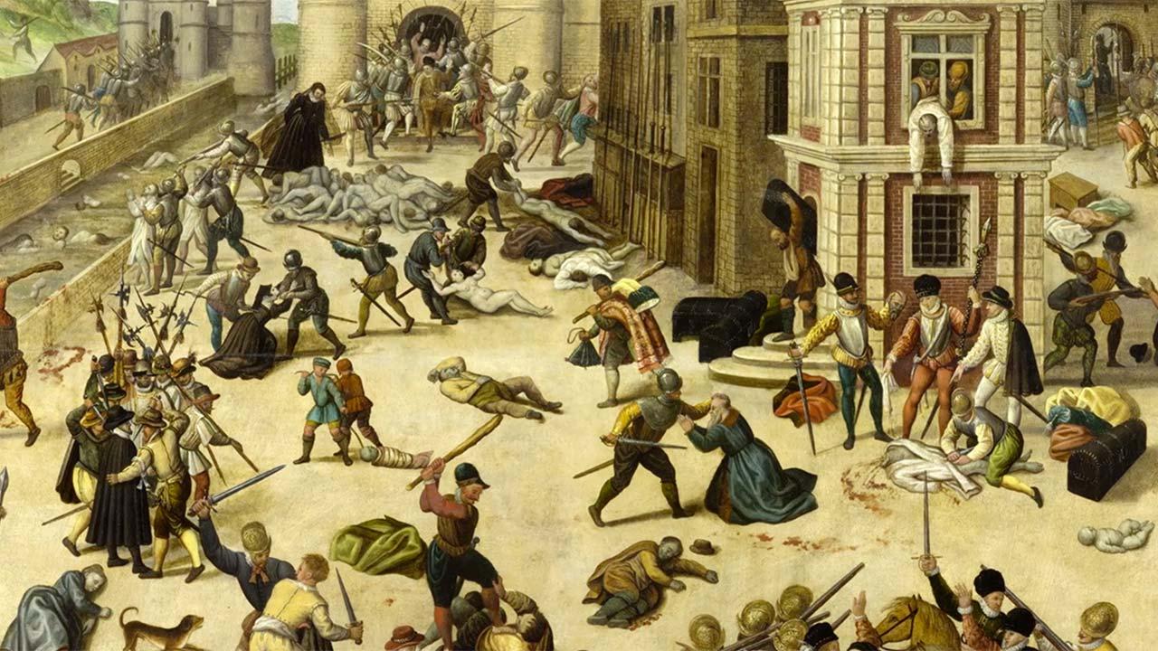 Pomračenje uma: Krvava francuska Vartolomejska noć (VIDEO)