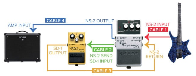 NS-2 Noise Suppressor Diagram