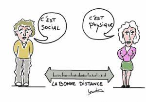 Distance, distance, vous avez dit distance ?