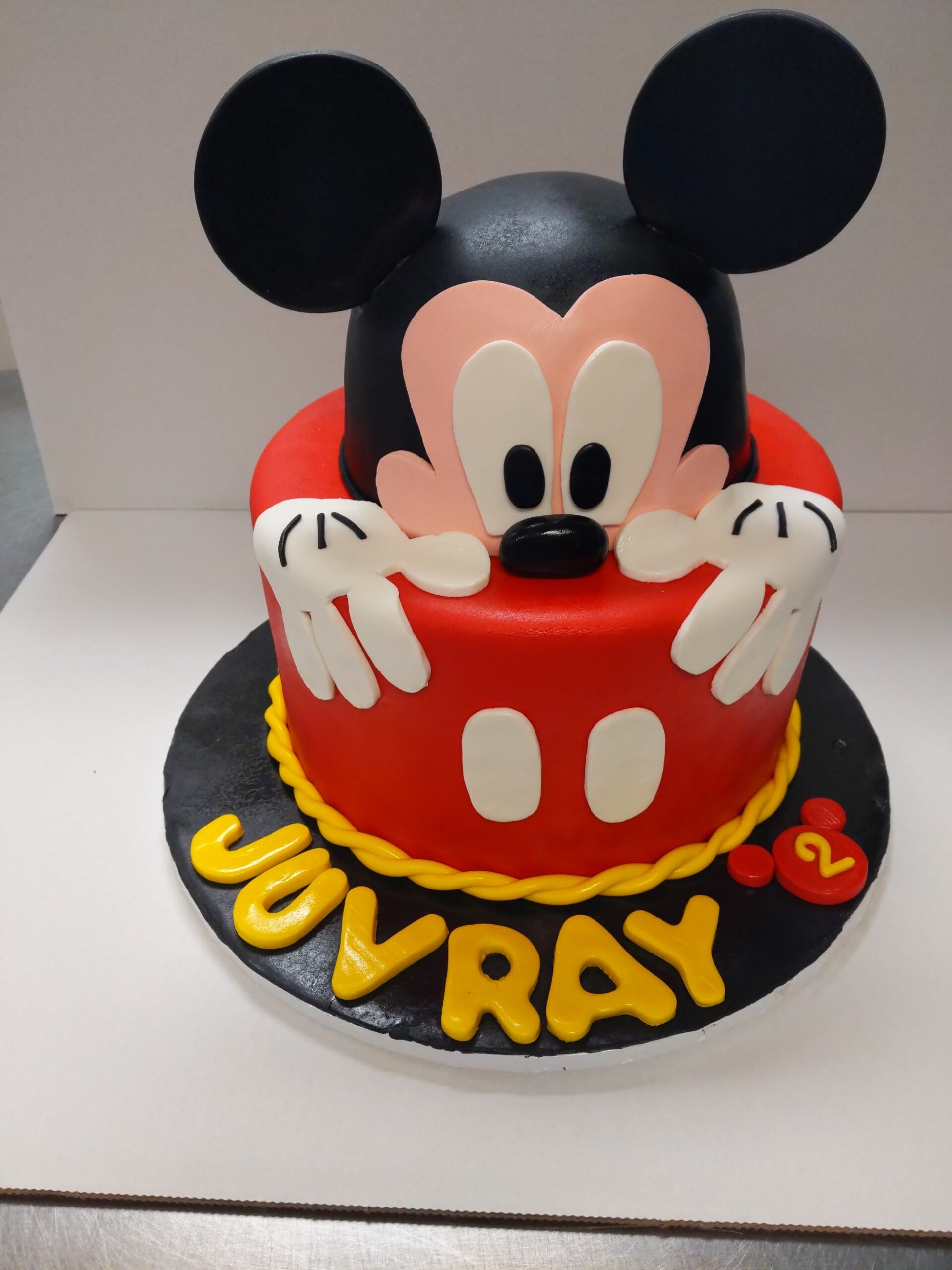 Mickey Mouse Birthday Cake Rolands Swiss Bake