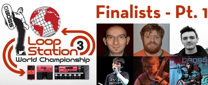 Loop Station 2013 finalists prt. 1