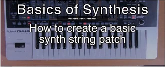 synth basics strings