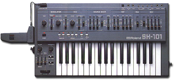 sh-101 Roland Synthesizer
