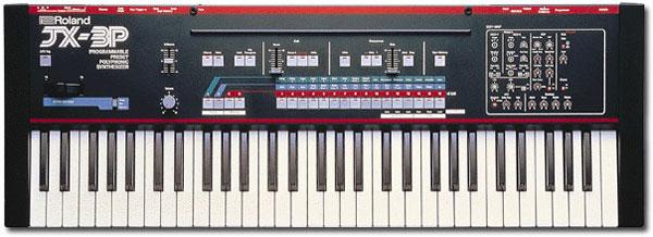 JX-3P Roland Synthesizer