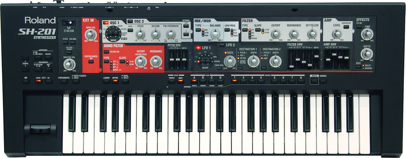 sh-201 Roland Synthesizer