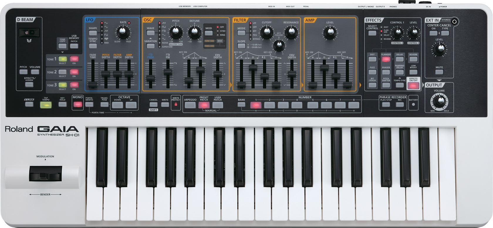 sh-01 Roland Synthesizer