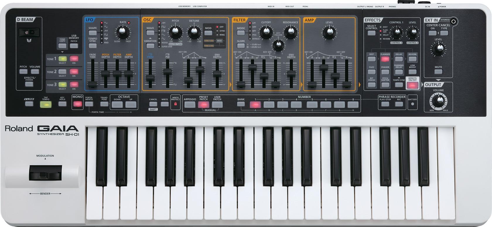 sh-01 Roland Synthesizer