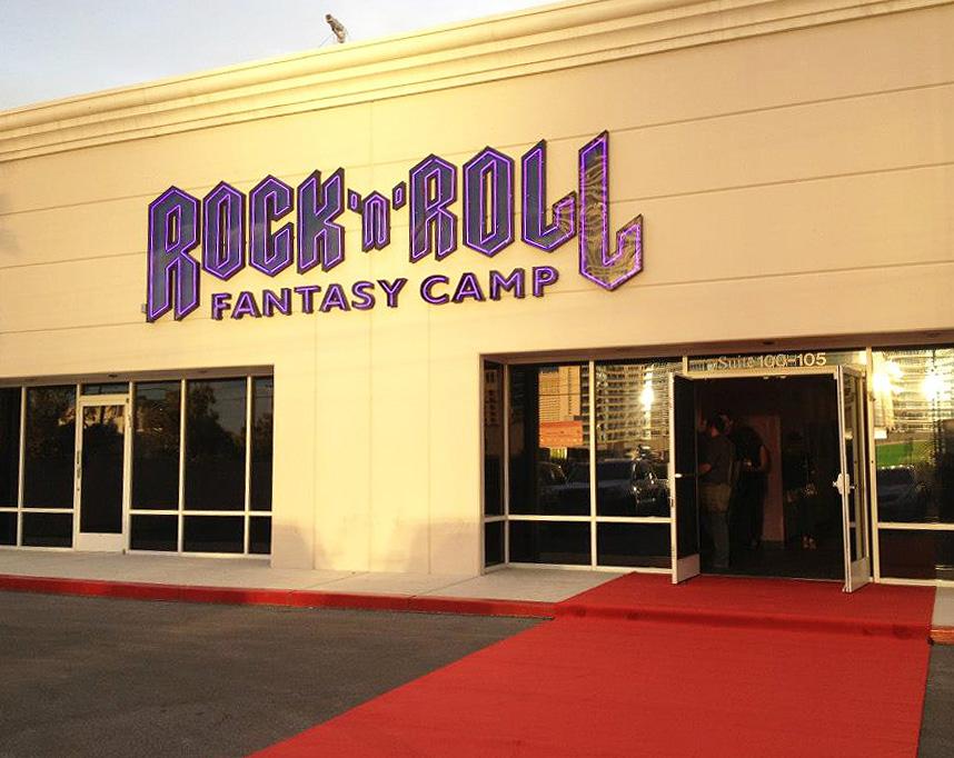 Rock 'n' Roll Fantasy Camp Main Building