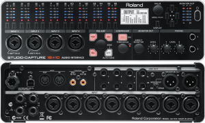 Roland STUDIO-CAPTURE ins and outs